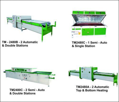 Vacuum-Membrane-Press-Machine
